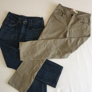 2 prs Levi's jeans - all proceeds to charity